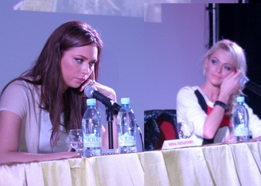 Анна Хилькевич и Анастасия Самбурская подрались в туалете ресторана