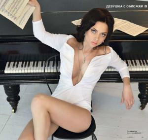 Настасья Самбурская в журнале Playboy