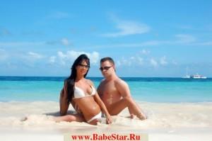 Виталий Гогунский и его жена.
