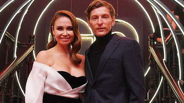 Павел Воля с женой.